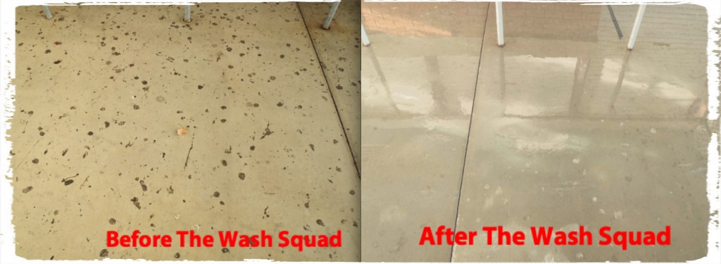 Commercial Pressure Washing Gum Removal