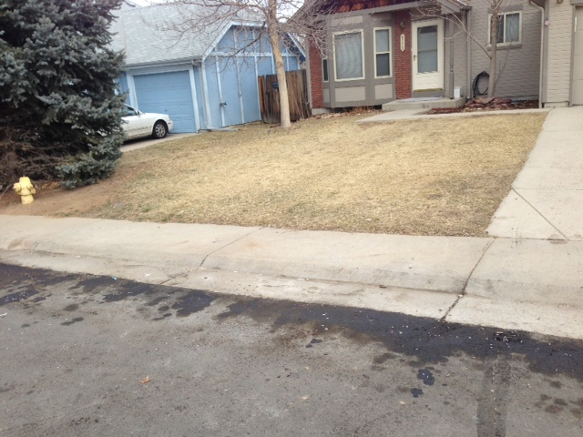 Driveway cleaning denver make your concrete look new again for Remove stains from concrete driveway